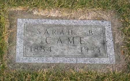 CAME, SARAH B. - Linn County, Iowa | SARAH B. CAME
