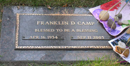 CAMP, FRANKLIN DELANO - Linn County, Iowa   FRANKLIN DELANO CAMP