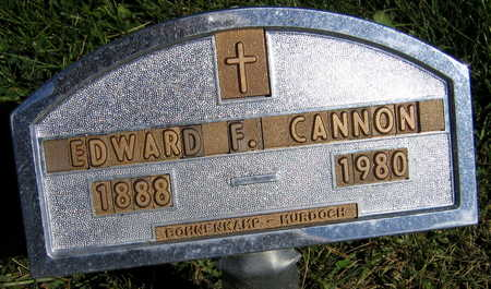 CANNON, EDWARD F. - Linn County, Iowa | EDWARD F. CANNON