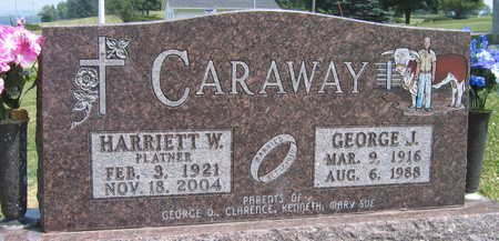 CARAWAY, HARRIETT W. - Linn County, Iowa | HARRIETT W. CARAWAY