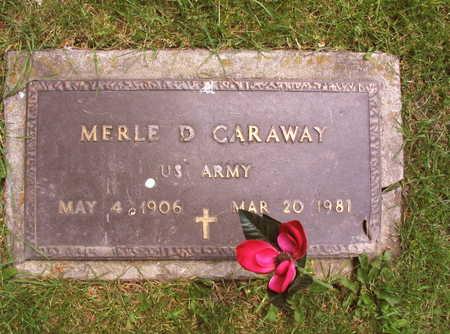 CARAWAY, MERLE D. - Linn County, Iowa | MERLE D. CARAWAY