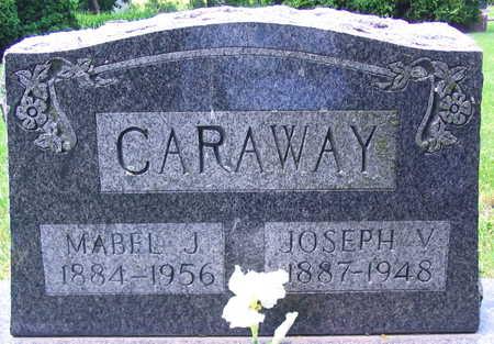 CARAWAY, MABEL J. - Linn County, Iowa | MABEL J. CARAWAY