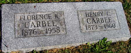 CARBEE, HENRY C. - Linn County, Iowa   HENRY C. CARBEE