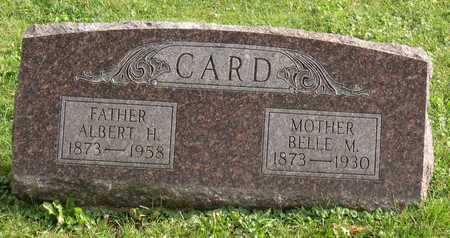 CARD, BELLE M. - Linn County, Iowa | BELLE M. CARD
