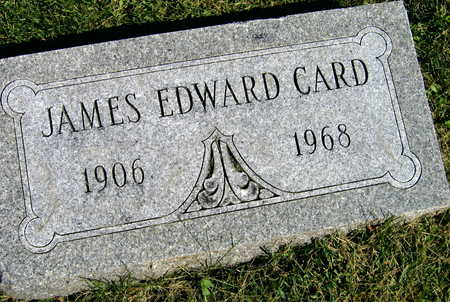 CARD, JAMES EDWARD - Linn County, Iowa | JAMES EDWARD CARD