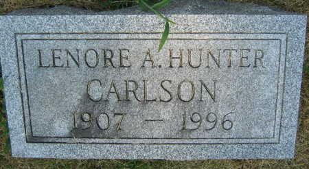 HUNTER CARLSON, LENORE A. - Linn County, Iowa | LENORE A. HUNTER CARLSON
