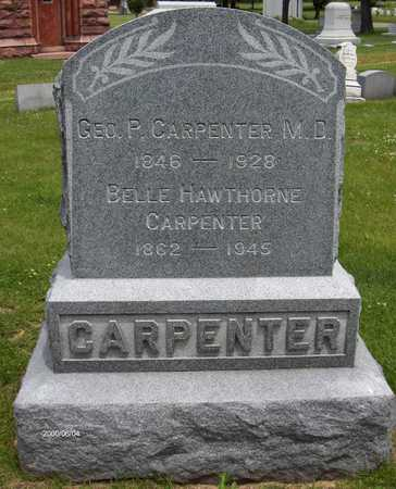CARPENTER, BELLE - Linn County, Iowa | BELLE CARPENTER