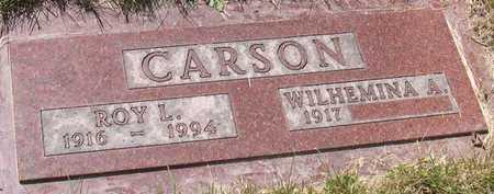 CARSON, ROY L. - Linn County, Iowa | ROY L. CARSON