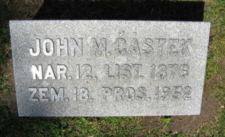 CASTEK, JOHN M. - Linn County, Iowa | JOHN M. CASTEK