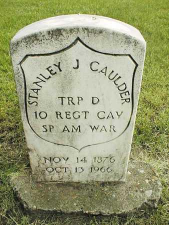 CAULDER, STANLEY J. - Linn County, Iowa | STANLEY J. CAULDER