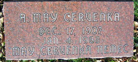 CERVENKA, A. MAY - Linn County, Iowa | A. MAY CERVENKA