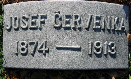 CERVENKA, JOSEF - Linn County, Iowa | JOSEF CERVENKA