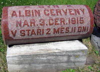 CERVENY, ALBIN - Linn County, Iowa | ALBIN CERVENY