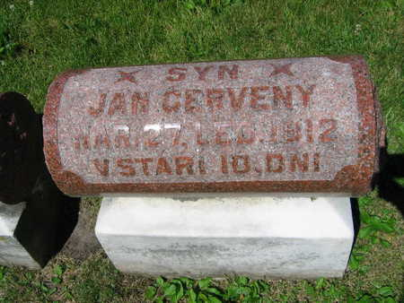 CERVENY, JAN - Linn County, Iowa | JAN CERVENY