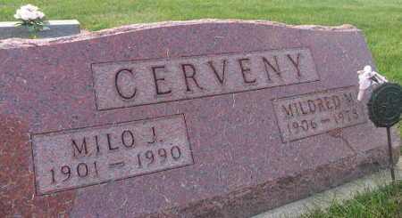 CERVENY, MILDRED M. - Linn County, Iowa | MILDRED M. CERVENY
