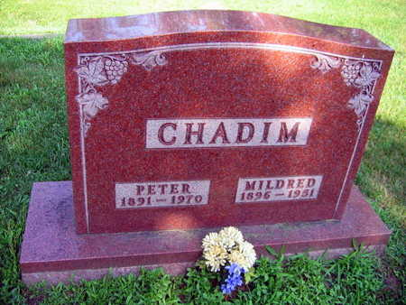 CHADIM, MILDRED - Linn County, Iowa | MILDRED CHADIM