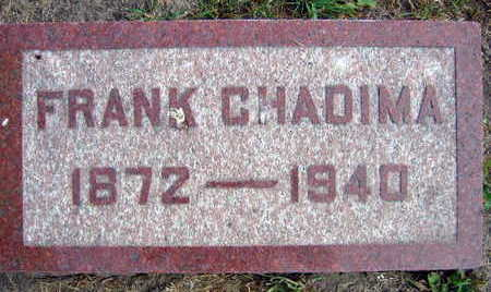 CHADIMA, FRANK - Linn County, Iowa | FRANK CHADIMA