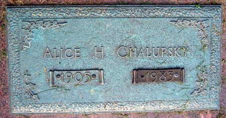 CHALUPSKY, ALICE H. - Linn County, Iowa | ALICE H. CHALUPSKY