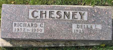 CHESNEY, RICHARD C. - Linn County, Iowa | RICHARD C. CHESNEY