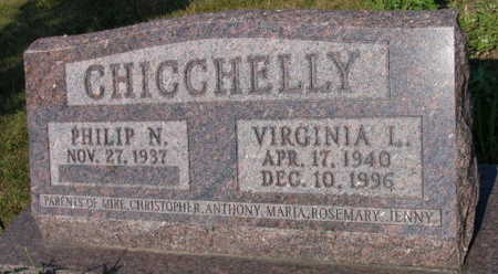 CHICCHELLY, VIRGINIA L. - Linn County, Iowa | VIRGINIA L. CHICCHELLY