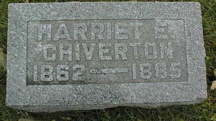 CHIVERTON, HARRIET E. - Linn County, Iowa | HARRIET E. CHIVERTON