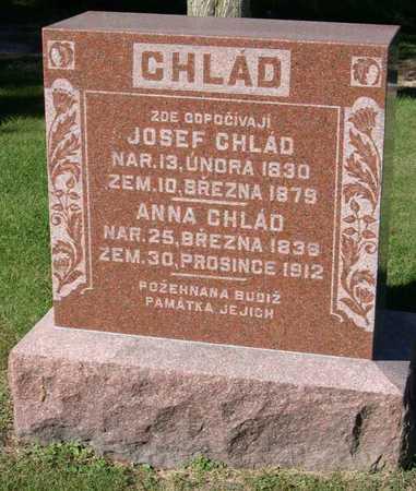 CHLAD, JOSEF - Linn County, Iowa | JOSEF CHLAD