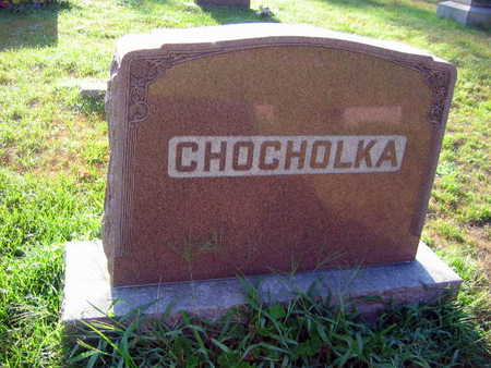 CHOCHOLKA, FAMILY STONE - Linn County, Iowa | FAMILY STONE CHOCHOLKA