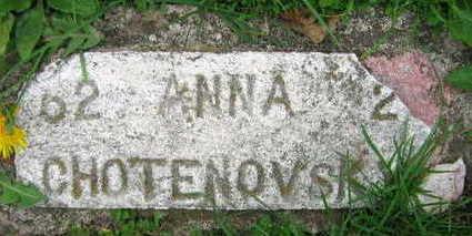 CHOTENOVSKY, ANNA - Linn County, Iowa | ANNA CHOTENOVSKY
