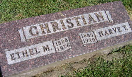 CHRISTIAN, ETHEL M. - Linn County, Iowa | ETHEL M. CHRISTIAN