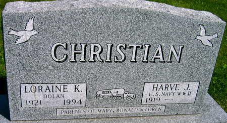 CHRISTIAN, HARVE J. - Linn County, Iowa | HARVE J. CHRISTIAN