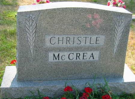 CHRISTLE MCCREA, FAMILY STONE - Linn County, Iowa | FAMILY STONE CHRISTLE MCCREA
