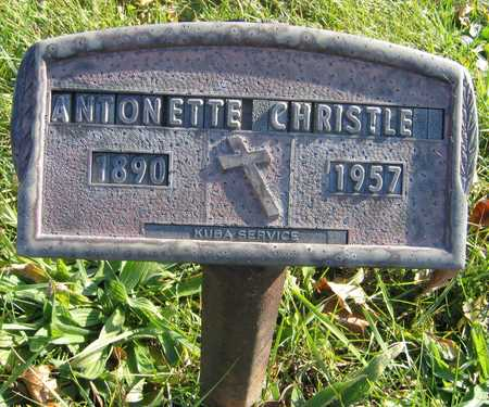 CHRISTLE, ANTONETTE - Linn County, Iowa | ANTONETTE CHRISTLE