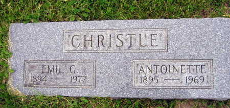 CHRISTLE, ANTOINETTE - Linn County, Iowa | ANTOINETTE CHRISTLE