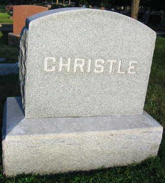 CHRISTLE, FAMILY STONE - Linn County, Iowa | FAMILY STONE CHRISTLE
