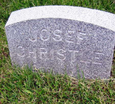 CHRISTLE, JOSEF - Linn County, Iowa | JOSEF CHRISTLE