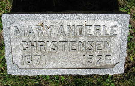 CHRISTENSEN, MARY - Linn County, Iowa | MARY CHRISTENSEN