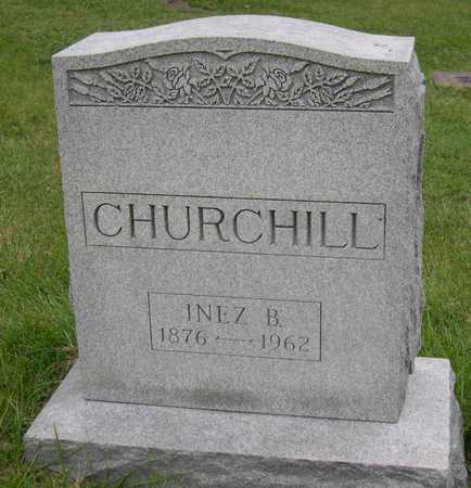 CHURCHILL, INEZ B. - Linn County, Iowa | INEZ B. CHURCHILL
