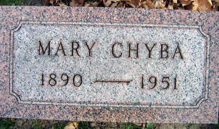 CHYBA, MARY - Linn County, Iowa | MARY CHYBA