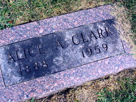 CLARK, ALICE A. - Linn County, Iowa | ALICE A. CLARK