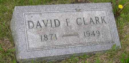 CLARK, DAVID F. - Linn County, Iowa | DAVID F. CLARK
