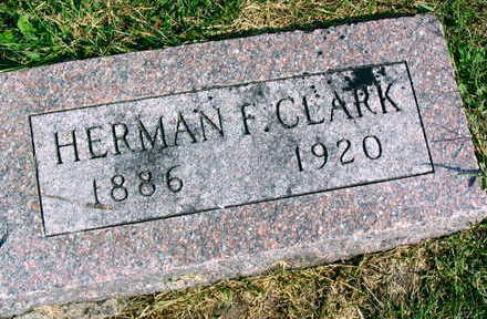 CLARK, HERMAN F. - Linn County, Iowa | HERMAN F. CLARK