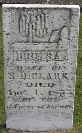 CLARK, LOUISA - Linn County, Iowa | LOUISA CLARK