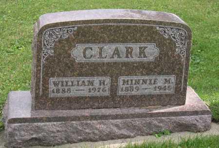 CLARK, MINNIE M. - Linn County, Iowa | MINNIE M. CLARK
