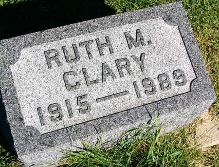 CLARY, RUTH M. - Linn County, Iowa | RUTH M. CLARY