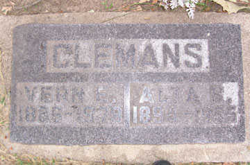 CLEMANS, ALTA S. - Linn County, Iowa | ALTA S. CLEMANS