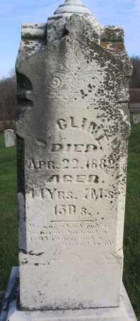CLINE, J. - Linn County, Iowa | J. CLINE
