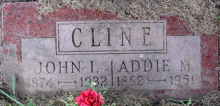 CLINE, ADDIE M. - Linn County, Iowa | ADDIE M. CLINE
