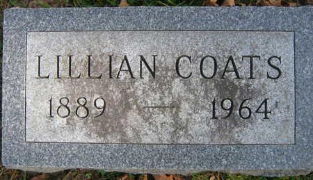 COATS, LILLIAN - Linn County, Iowa | LILLIAN COATS