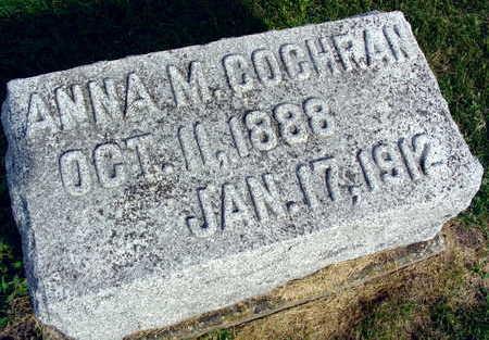 COCHRAN, ANNA M. - Linn County, Iowa | ANNA M. COCHRAN