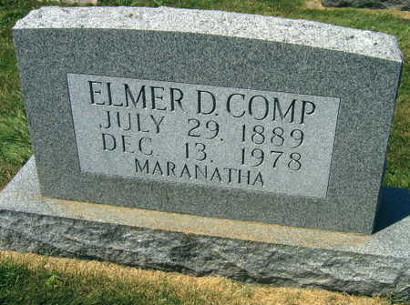 COMP, ELMER D. - Linn County, Iowa | ELMER D. COMP